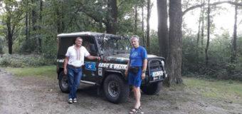 На Волині побував 72-річний мандрівник із Естонії на колоритному авто. ВІДЕО