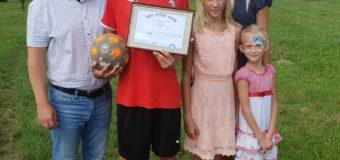 Лучанин встановив рекорд України, набивши м'яча 4161 раз
