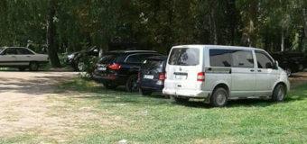 У Луцькому парку штрафували водіїв за незаконне паркування