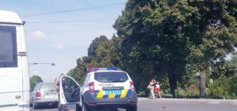 У селі під Луцьком поліцейське авто врізалося в «євробляху»