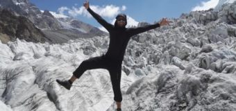 Альпініст із Луцька піднявся на два семитисячники Паміру. ФОТО