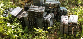 Луцькі прикордонники знайшли 30 ящиків сигарет, які зловмисники хотіли переправити через контрольно-слідову смугу