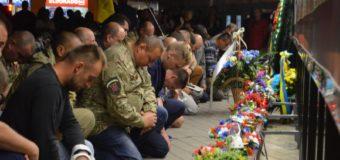 У Луцьку вшанували пам'ять бійців, які загинули під Іловайськом. ФОТО