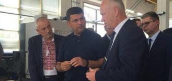 Гройсман у Луцьку відвідав ремонтний завод «Мотор»
