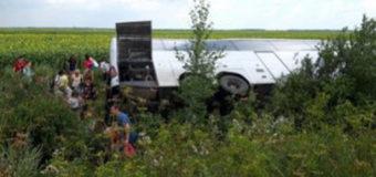 На Волині перекинувся автобус із білорусами