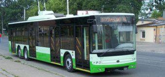 Змінилася схема руху луцьких тролейбусів