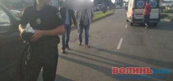 У Луцьку у аварії постраждав пішохід [ФОТО]