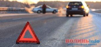 На Волині автомобіль збив пішохода, який йшов по дорозі
