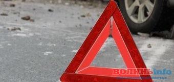На Волині п'яний водій збив матір з двома маленькими дітьми