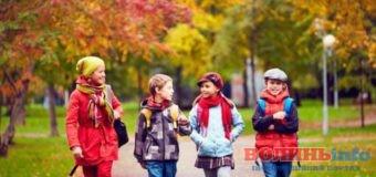 Знову в школу або Як швидко промайнули осінні канікули