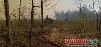 На Рівненщині горить найбільший в Україні заповідник