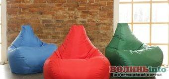 Як вибрати крісло-мішок за розміром?