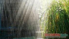 У понеділок на Волині дощитиме