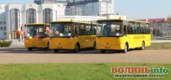 Скільки мільйонв отримала Волинь на шкільні автобуси
