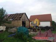 Негода на Волині позривала дахи з будинків