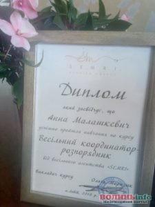 Весільний координатор та координатор Анна Малашкевич