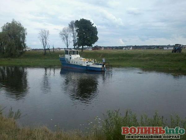 Річковий катер Луцьк
