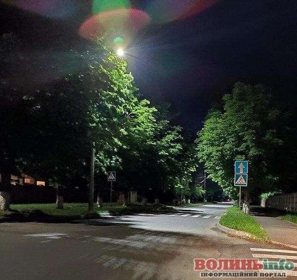 Освітлення вулиць луцька