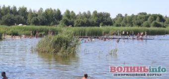 На єдиному придатному для купання пляжі Луцька – купа сміття та пасуться кози