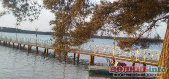 На Шацьких озерах створили особливе місце для закоханих