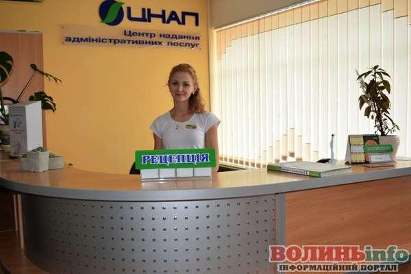 Центр надання адміністративних послуг у місті Луцьку