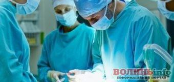 На Волині медики провели операцію пацієнту в шоковому стані