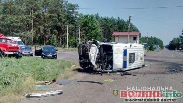 Жахлива аварія на Волині