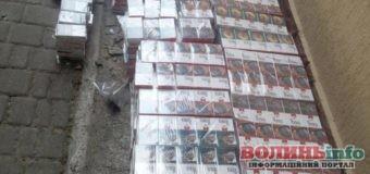 Безхазяйні 5 тис. цигарок вилучили митники на Волині