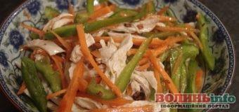 Фітнес-салат з куркою