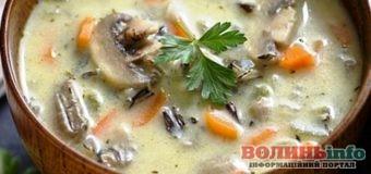 Грибний суп в мультиварці