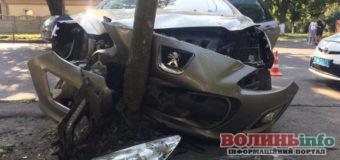 Нетверезий водій спричинив ДТП на Володимирській у Луцьку