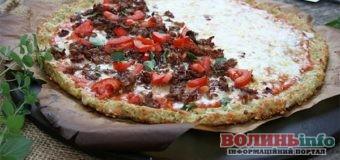 Смачна кабачкова піца зі шкоринкою