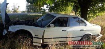 У Прилуцьку авто врізалося в дерево