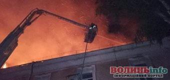 Пожежа у Луцькому госпіталі: люди потребують допомоги