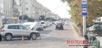ДТП: зіткнулися мотицикліст та автомобіль