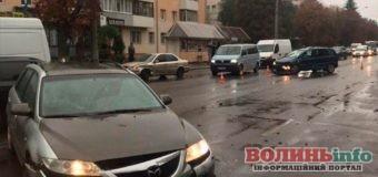 ДТП у Луцьку – дощова погода заставляє зосередитися під час руху