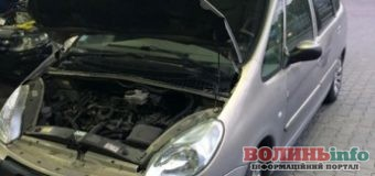 Викрадене у Франції авто знайшли в Луцьку