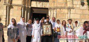 Волинська ікона замироточила в Єрусалимі (ФОТО)