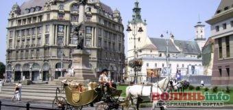У Львові перелякані коні знесли лавочку з людьми, постраждала дитина