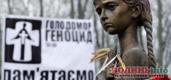 23 листопада у Луцьку відбудуться скорботні заходи по вшануванню пам'яті жертв голодоморів в Україні