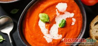 Як приготувати пісний томатний суп з базиліком