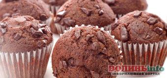 Повітряні шоколадні мафіни — смачний десерт за 30 хвилин