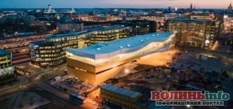 Нова бібліотека у Гельсінкі – найкраща у світі