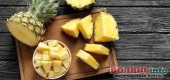 Як вибрати солодкий і стиглий ананас?