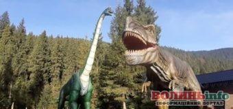 """Унікальний """"Парк динозавтрів"""" відкрили у Карпатах"""