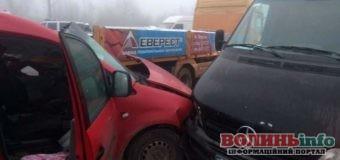 ДТП у Рівненському районі – зіткнулося сім авто