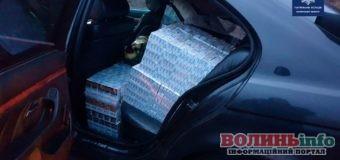 У Ковелі затримали авто,  запаковане 10-ма тисячами пачок цигарок