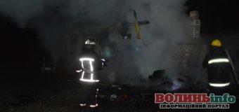 Нічна пожежа забрала життя двох дітей