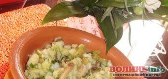 Постимо смачно: простий селянський салат