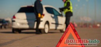 Майже пів тисячі ДТП: у поліції подали статистику аварій у Волинській області за два місяці цього року